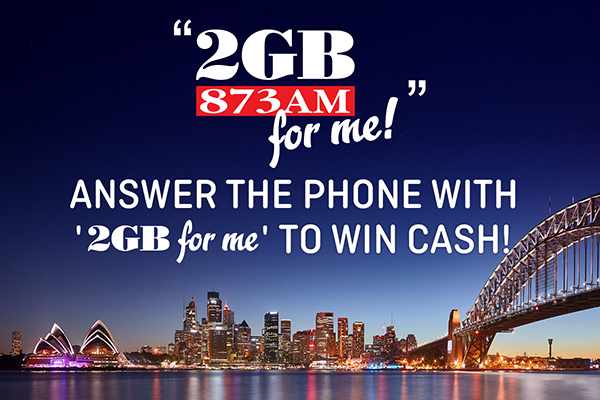 Article image for '2GB for Me' kicks off with a very happy winner