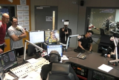 WATCH | Nova pranks Ray Hadley with one of the world's biggest bands