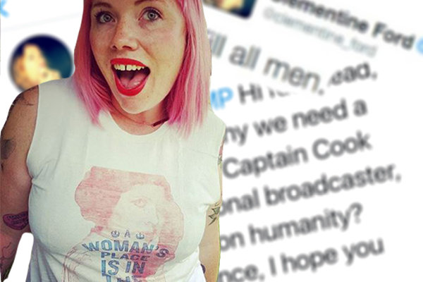 Article image for 'Kill all men': Controversial feminist booted from charity fundraiser