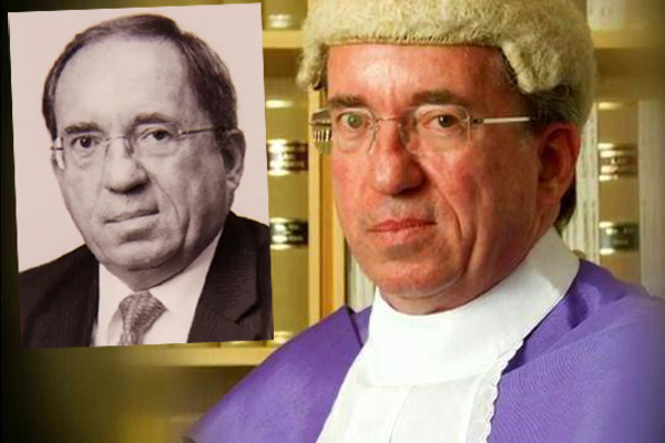 Article image for Government taking complaints about disgraceful judge