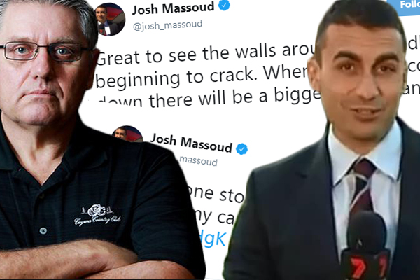 Article image for 'Karma's a bitch', Ray Hadley unleashes on 'grub' Josh Massoud