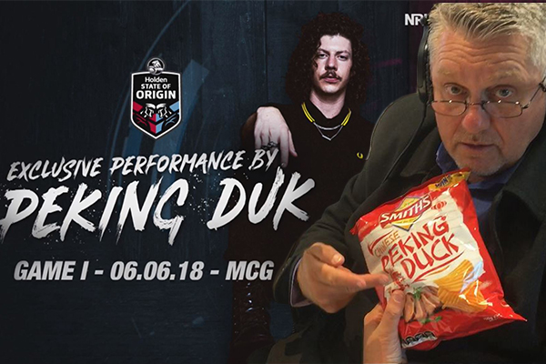 Article image for Peking Duk takes over The Ray Hadley Morning Show… seriously