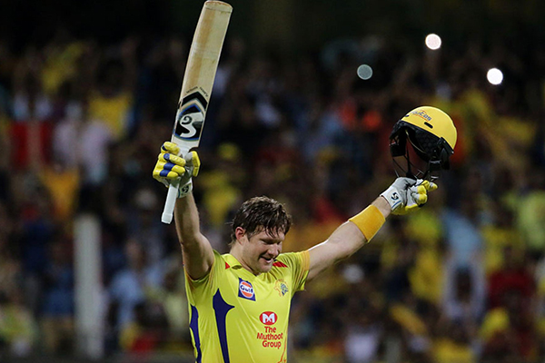 Article image for Shane Watson thanks Alan Jones hours after IPL final heroics