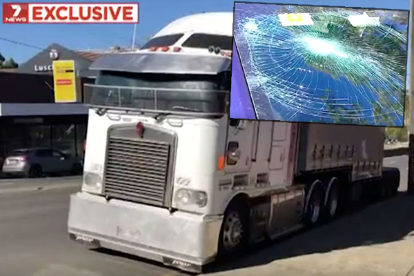 Article image for Truck driver charged over road rage rampage on Sydney's north shore
