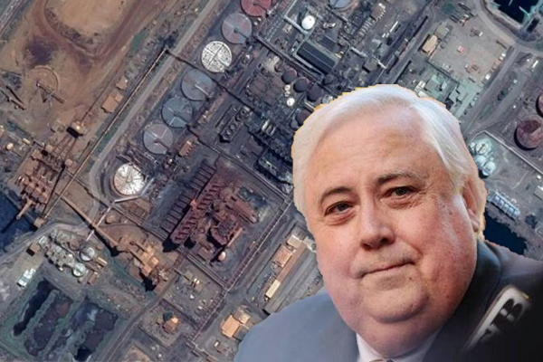 Article image for Former Queensland Nickel worker welcomes freezing of Clive Palmer's assets