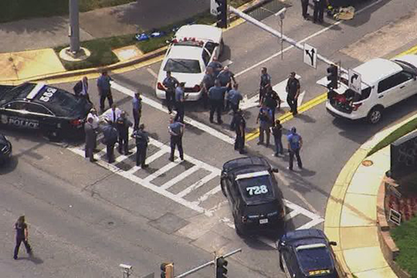 Article image for Five dead after gunman opens fire at American newspaper
