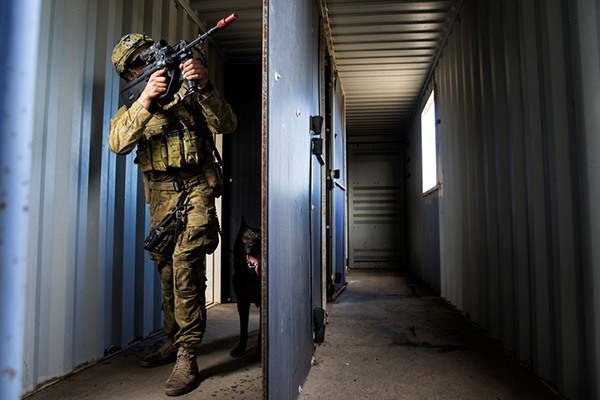 Article image for Australian military to have more power in combating terror threats