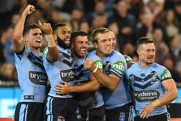 Article image for Baby Blues Blitz – NSW rookies too good for QLD