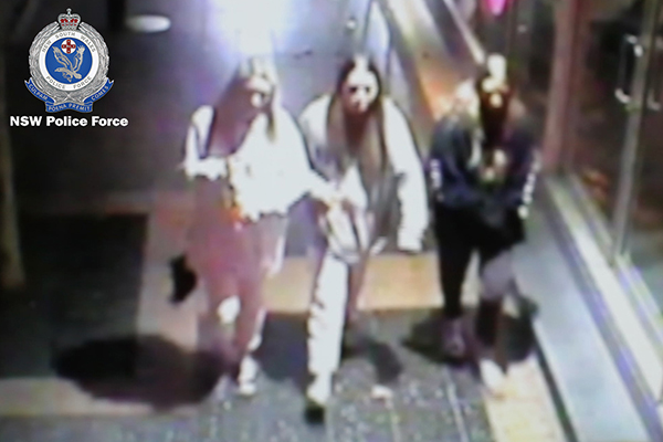 Article image for WATCH: Police search for three females following suspicious school fire