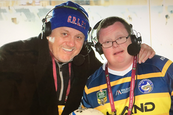 Article image for Ray helps surprise a very special NRL fan