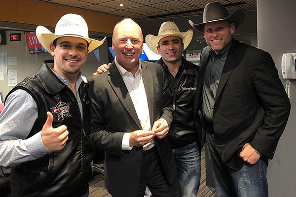 Article image for Professional Bull Riders CEO and stars join Ross in the studio