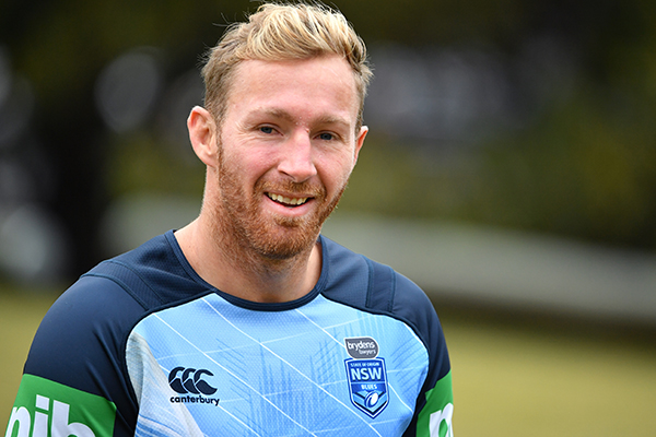 Article image for NSW Blues debutant wants the first hit up in Origin II
