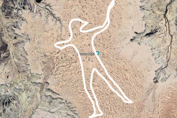 Article image for Dick Smith offering $5,000 reward for information on the infamous Marree Man