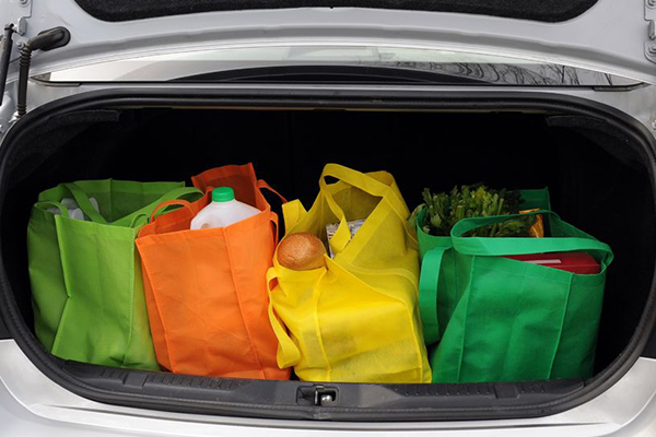 Article image for Woolies CEO says bag ban is 'not going to make money for us'