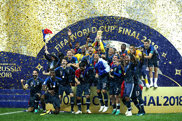 Article image for France crowned FIFA World Cup Champions