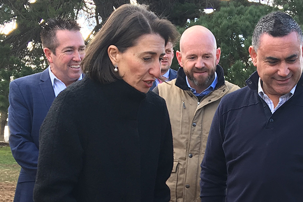 Article image for 'This will make a difference': Premier confident drought package will help