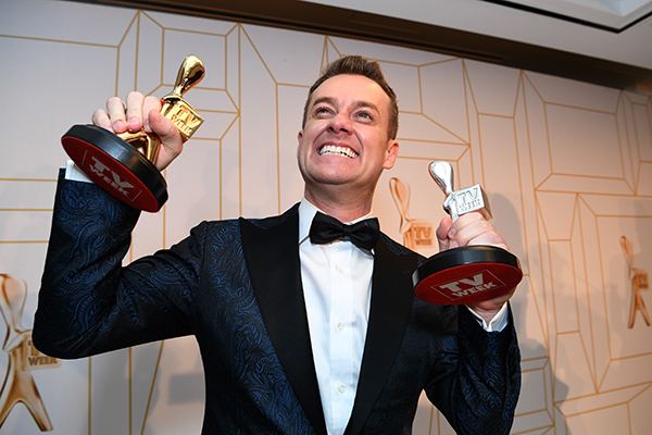 Article image for Grant Denyer's shock Gold Logie win and emotional speech