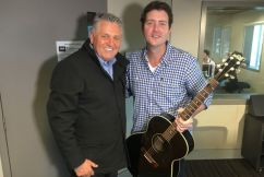 Ray's great mate Adam Harvey drops by for a chat and to perform