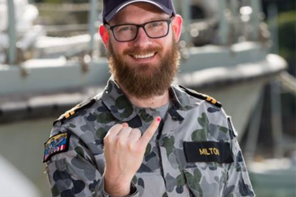 Article image for 'The uniform needs to be above politics': Australian navy slammed over pink nail polish