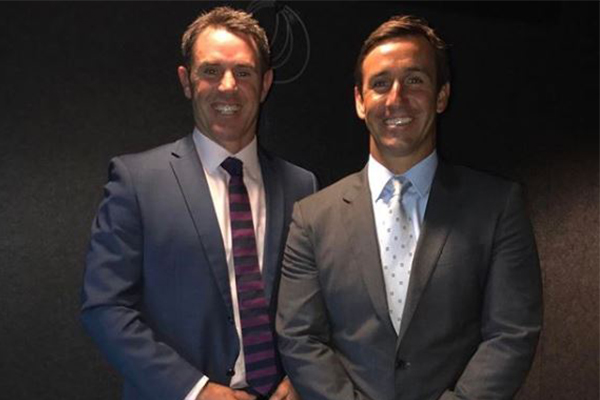 Article image for 'I thanked him for retiring': Andrew Johns' cheeky sledge at Cameron Smith ahead of Origin clash