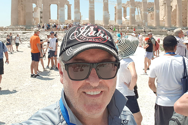 Article image for Yassou! Smithy checks in from glorious Greece