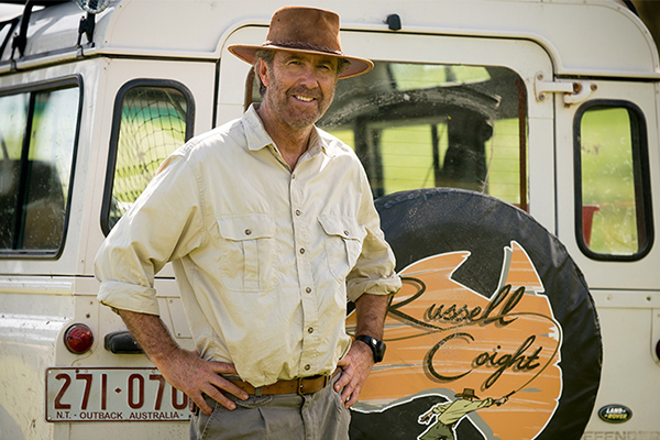 Article image for Russell Coight is back and he's armed with a crocodile skin g-string