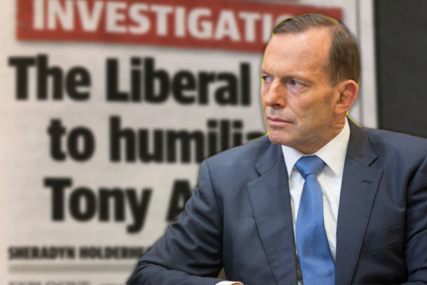 Article image for Tony Abbott calls in to launch blistering attack on Liberal Party