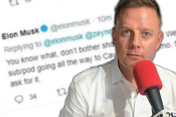 Article image for 'What a low mongrel you are': Ben slams billionaire for low blow attack on hero cave diver