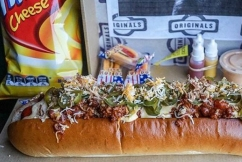 Hot diggity dog: This Sydney hot dog comes with a health warning