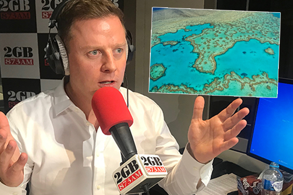 Article image for Ben Fordham takes Environment Minister to task over mysterious $444-million reef grant