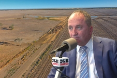'We can't survive!': Farmer's desperate plea to Barnaby Joyce ahead of drought summit