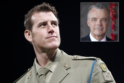 'War is a messy business': Brendan Nelson backs under fire war hero