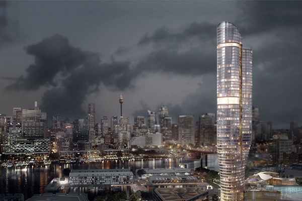 Article image for New hotel set to transform Sydney's skyline