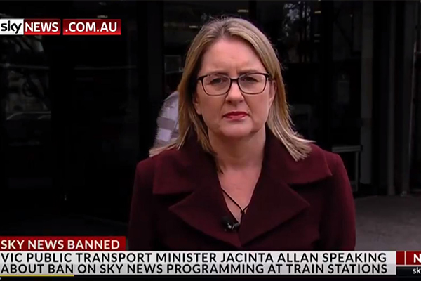 Article image for 'She looked like a kangaroo in the headlights': Minister forced into embarrassing backtrack