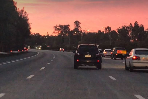 Article image for Alleged drug driver swerves across motorway with kids in the car
