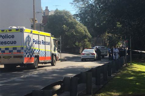 Article image for Two people on the run after man shot dead in Sydney's inner west