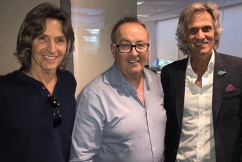 'This is the best interview I've done': Dire Straits Experience join Chris in the studio
