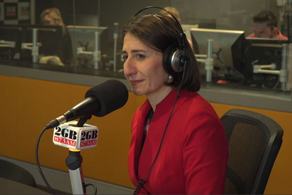 Article image for Premier Berejiklian in studio after abortion bill becomes law