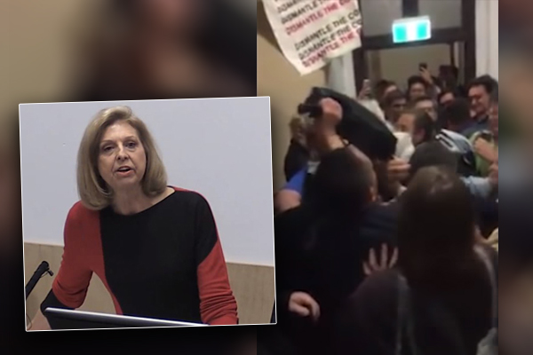 Article image for Psychologist slams hypocritical mob of 'abusive' protesters for bullying