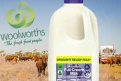 Woolworths CEO promises to pay more for milk if processors play ball