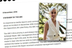 'I want it to stop': ABC journalist Ashleigh Raper details explosive Foley allegations