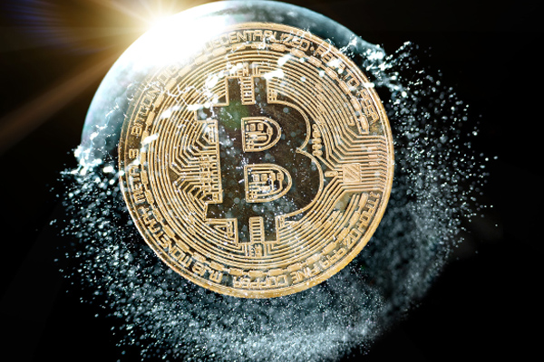 Article image for Bitcoin bubble bursts: 'FONGO' to blame as cryptocurrency slumps to 13-month low
