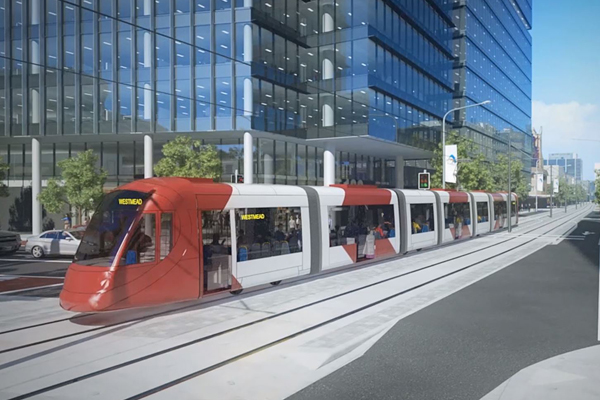 Article image for Minister confident Parramatta light rail 'won't see the same disruption' as CBD