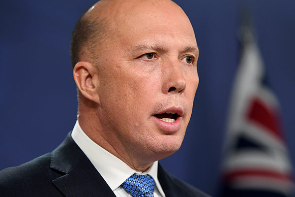 Article image for Peter Dutton: Nationals MP Andrew Broad has 'done the honourable thing'