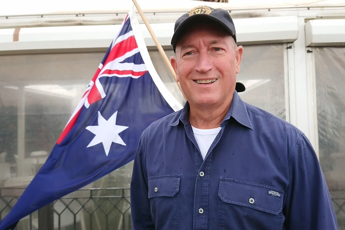 Article image for Fraser Anning denies links to far-right protesters
