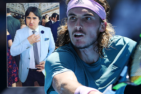 Article image for How do you actually say Stefanos Tsitsipas? 'The Wog Boy' gives us a lesson