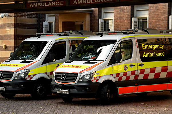 Article image for Sydney's ambulance response times the slowest in the nation