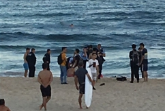 Three men pulled from the water at Bondi Beach
