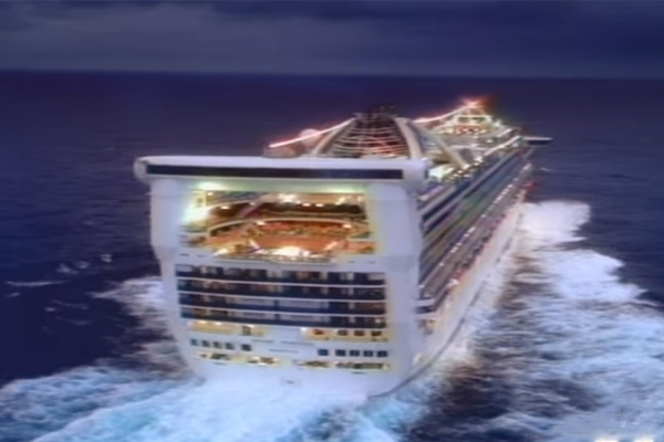 Article image for Cruise ship returning to Australia after young passenger goes overboard