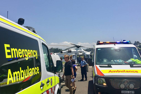 Article image for Man dies after being pulled from Kiama Blowhole